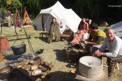 Le camp ambien, son ambiance et ses cuisiniers.