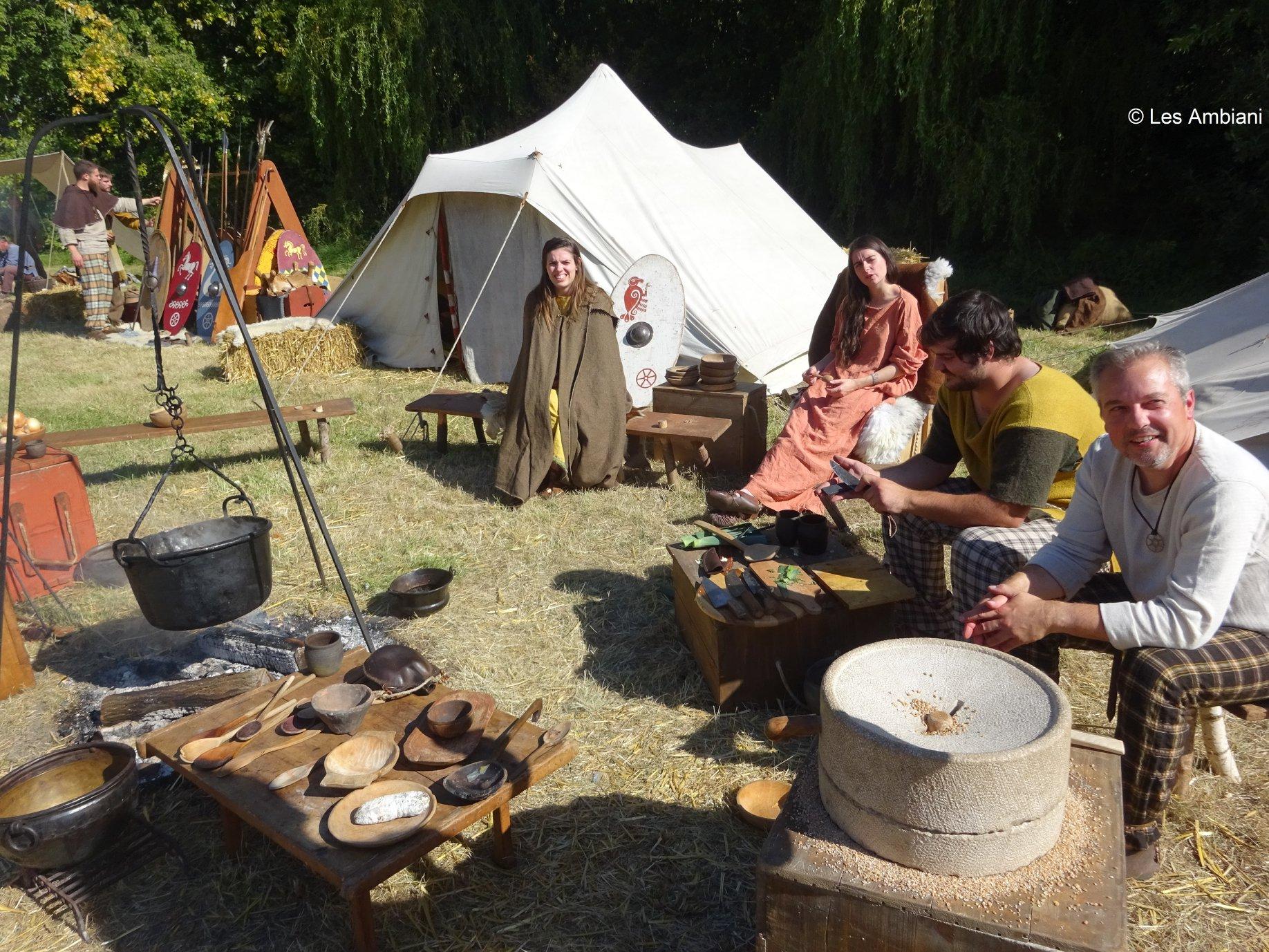 Camp multi-époque de Couderkerque-Branche, 2019